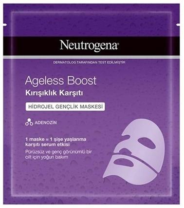 Neutrogena Neutrogena Kağıt Maske Ageless Boost Kırışık Karşıtı Hidrojel 30 Ml Renksiz